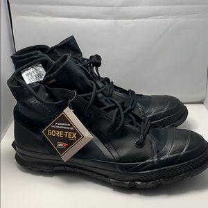 GoreTex Mens Waterproof Boots Converse Black Sz 11